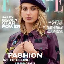 2017年7月英国Elle封面