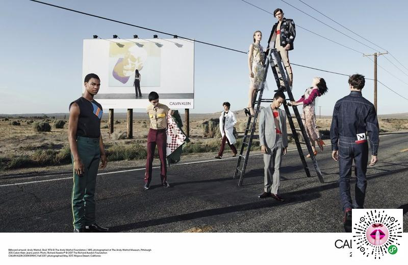 205年卡尔文w39nyc 2017年秋季运动....Calvin Klein 205W39NYC Fall 2017 Campaig...
