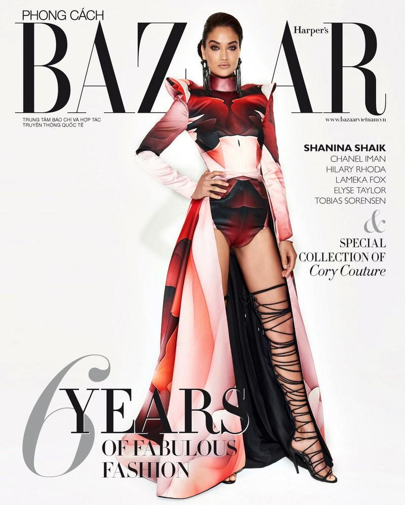 《时尚芭莎》2017年9月越南C ....Harper's Bazaar Vietnam September 2017 C...
