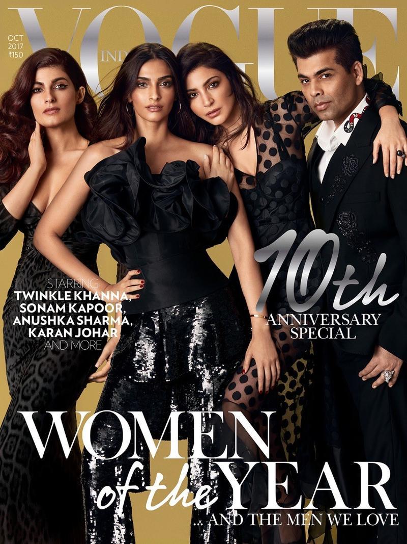 印度2017年10月封面时尚