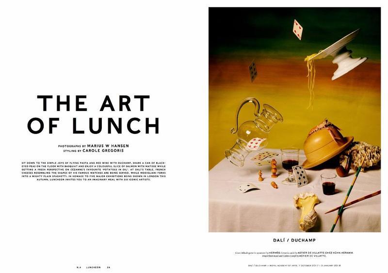我们午餐的杂志