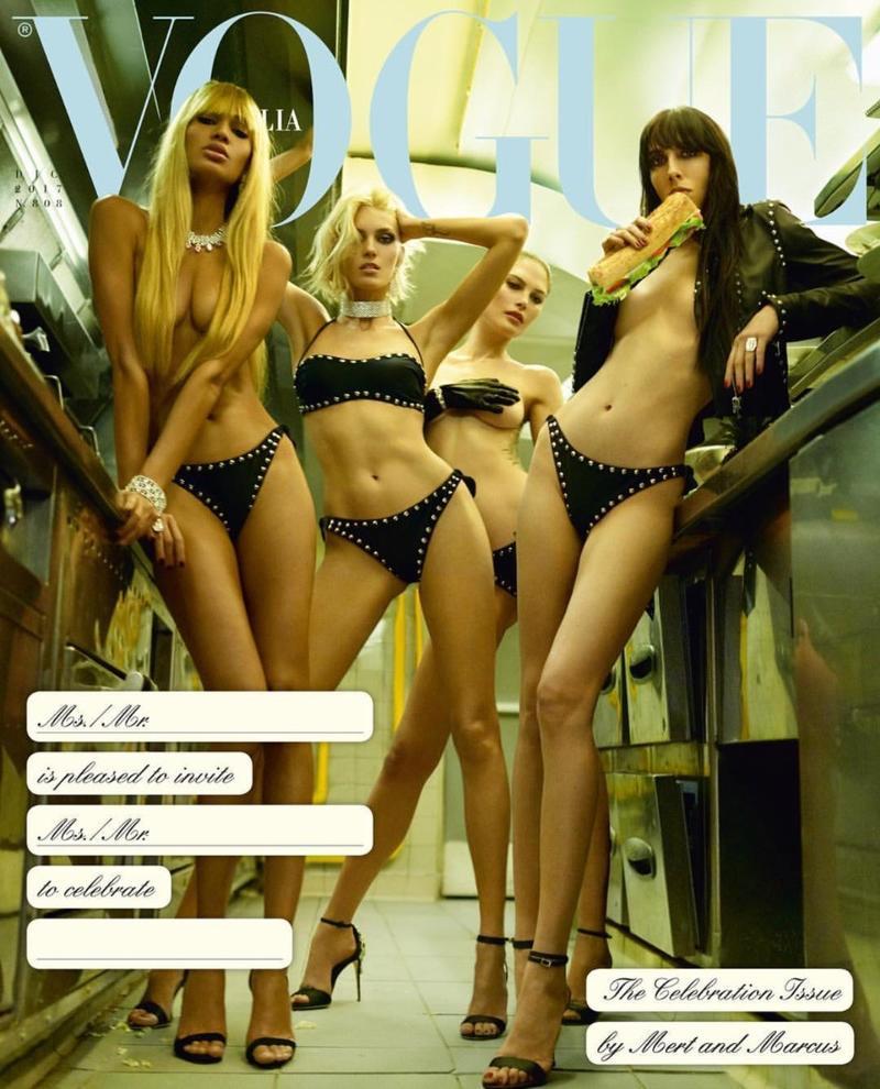 2017年12月《Vogue》意大利版封面