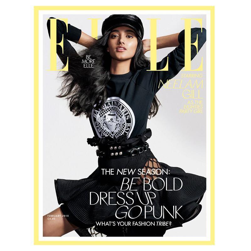 2018年2月英国ELLE封面