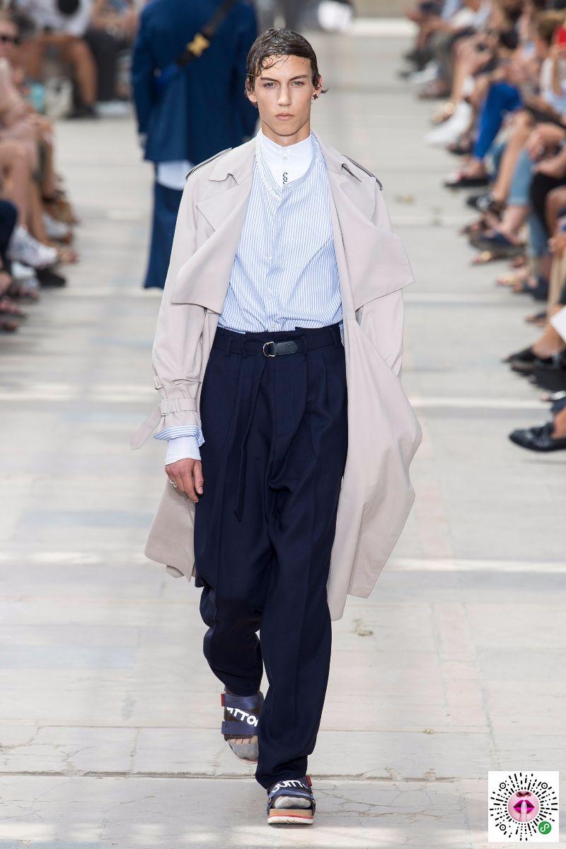 路易威登的S / S 18人的节目Louis Vuitton S/S 18 Men's Show
