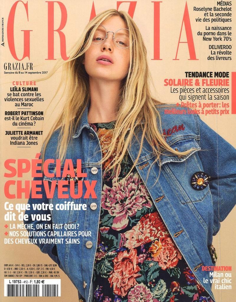 2017年9月8日,葛拉齐亚法国封面