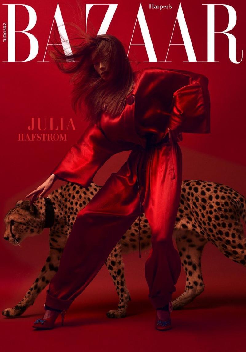 《时尚芭莎》2017年12月土耳其浸....