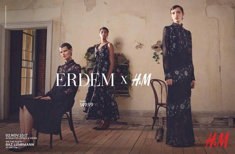 Erdem那样预言正发党胜利x H&M 2017年秋季运动