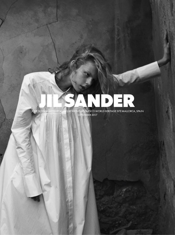 吉尔•桑达2018 S / SJil Sander S/S 2018