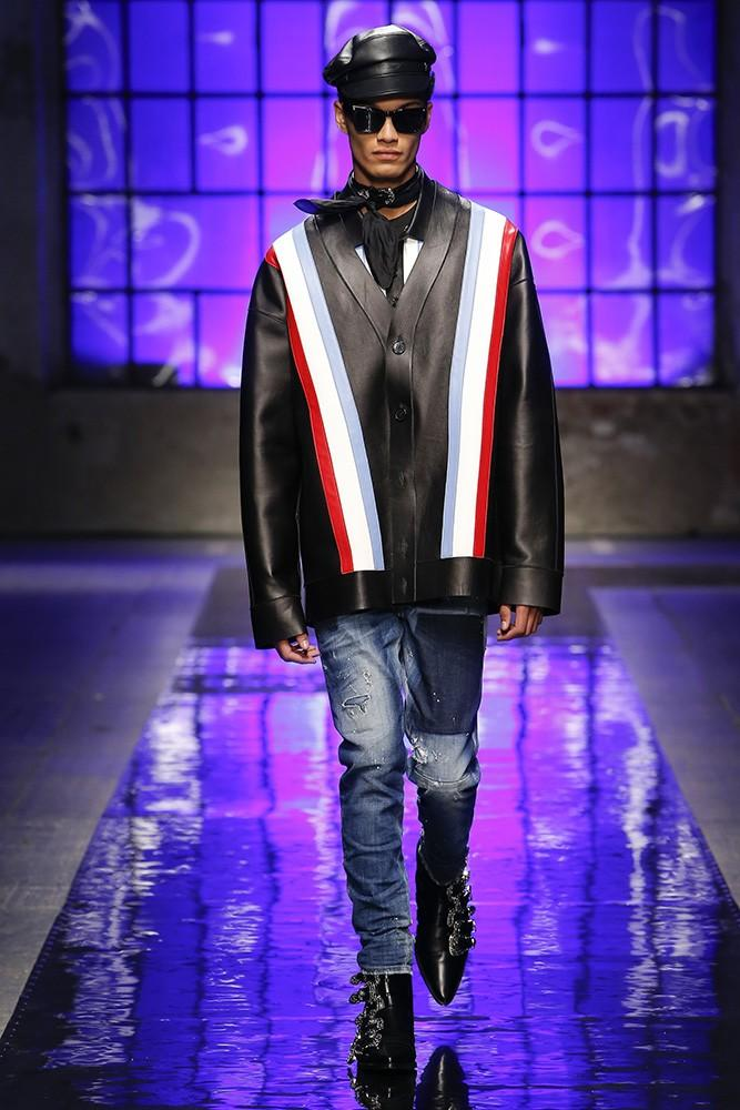 DSquared2 S / S 18显示DSquared2 S/S 18 Show