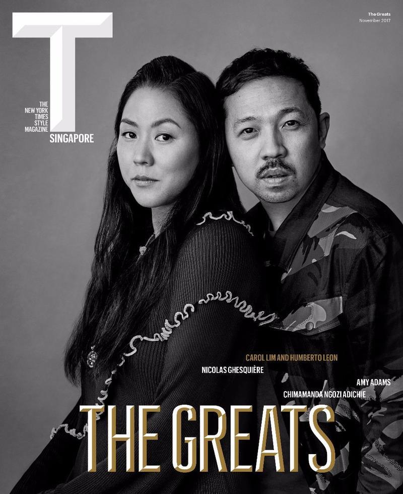 纽约时报时尚杂志Singap…The New York Times Style Magazine Singap...