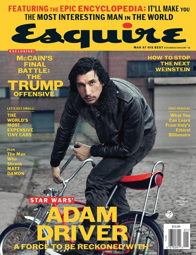 《美国2017年12月Esquire U.S. December 2017 Covers