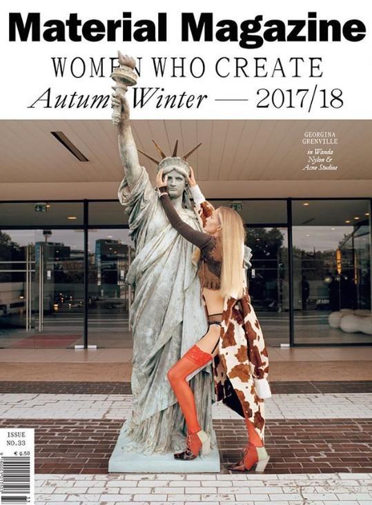 材料杂志秋季/冬季2017封面…