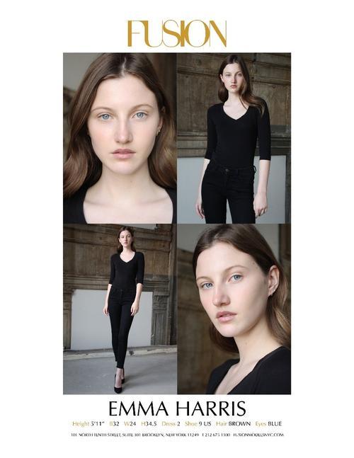 姓名:Emma Harris职业:MODEL